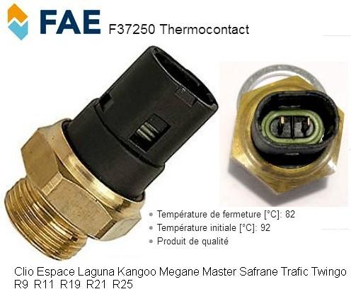 Genuine carburant Pièces radiateur ventilateur interrupteur à température-RFS3193