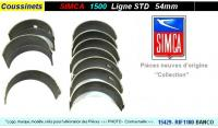 Coussinets de Lignes SIMCA 1500 1501 STD 54mm BANCO RIF-1180
