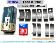 Coussinets de Lignes SIMCA 1300 1301 STD 48mm Vandervell 854