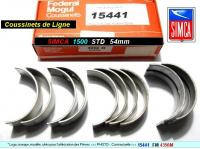 Coussinets de Lignes SIMCA 1500 1501 STD 54mm Federal Mogul 4350 M