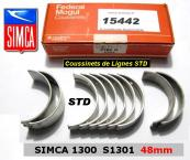 Coussinets de Lignes Simca 1300 1301 STD 48mm Federal-Mogul 4908 M