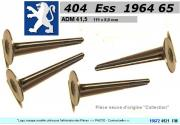 Soupapes Admission PEUGEOT 404 essence  41.5 x 119 x 8mm Floquet 4921 (les 4)