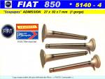 Soupapes Admission FIAT 850 27 x 92 x 7 mm Floquet Monopole 5140-B