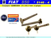 Soupapes Admission FIAT 850 27x92x7 mm Floquet Monopole 5140 (collection)