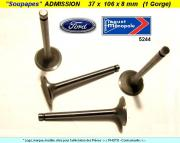 Soupapes Admission FORD 37 x 106 x 8mm Floquet Monopole 5244