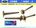 Soupapes Admission FORD 36 x 111 x 8mm Floquet Monopole 5402