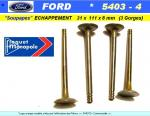 Soupapes Echappement FORD 31 x 111 x 8mm Floquet Monopole 5403