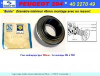 Butée embrayage PEUGEOT 204 1er montage 180mm SACHS (collection)