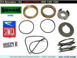 Kit épurateur Moteur Simca Rush 1000 1300 1500 Kit complet (collection)