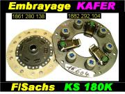 Embrayage VW Kafer 1200 1300 1302 1303 F/S KS 180mm (collection)