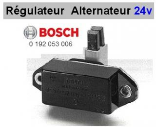 Régulateur de charge 24 volts Bosch Daf Magirus Deutz Mann Mercedes Poclain Scania