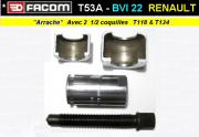 Outil Facom arrache BV Renault Dauphine Floride R8 R10 Estafette BVI 22 (outillage collection)