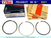 Segments Moteur PSA BX 205 GTi 405 MI 16 cotes STD 83mm 1900cc (collection)
