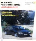 PEUGEOT 405 Essence carburateur Revue Technique Automobile ETA (reprise)