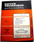 PEUGEOT 204 essence 1968  Revue technique RTA 271