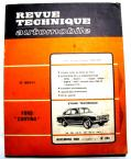 FORD CORTINA 1300 1500 1600 GT 1969  Revue technique RTA 283