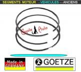 Segments Moteur Peugeot 203 204 403 75mm 2x2x4.5mm Goetze (collection)