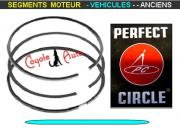 Segments Moteur SIMCA 1000 1100 STD 68mm 1.75x2x4mm Perfect Circle 427130