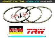 Segments Moteur Renault R12 Gordini R16 R18 Turbo 77mm 1.75x2x4mm (collection)
