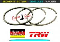 Segments Moteur Peugeot 203 204 403 75mm 2x2x4.5mm TRW (collection)